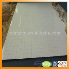magnetic whiteboard steel with grid line in white black green color