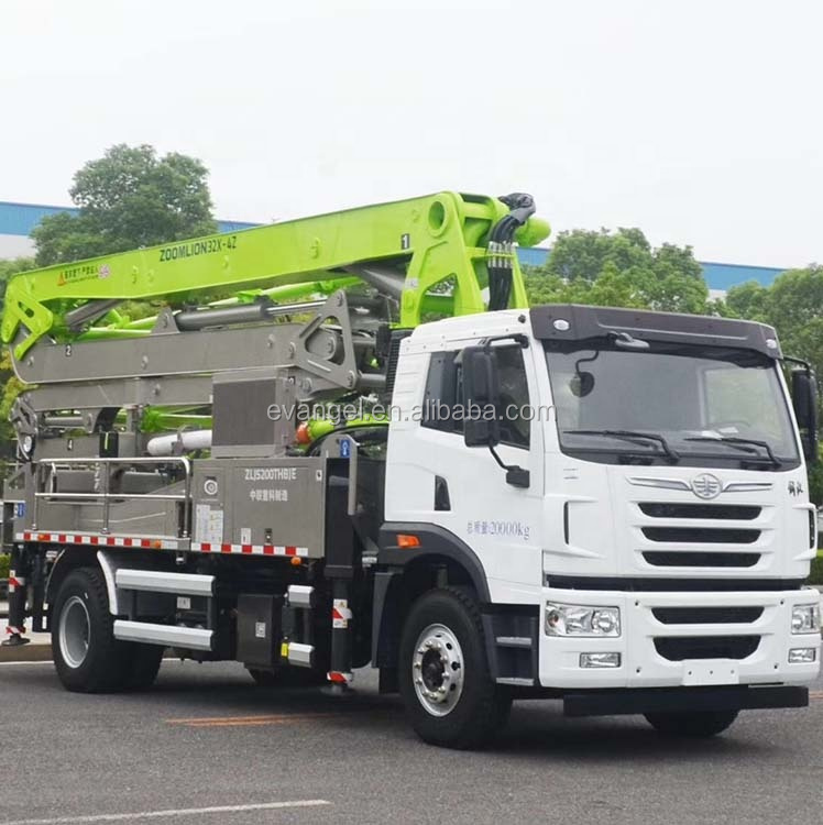 Zoomlion 38m Truck Mounted Concrete Pumps 38X-5RZ