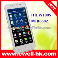Quad Core THL W100S android phone 1GB RAM 4GB ROM 4.5 Inch IPS Capacitive Touch Screen WIFI GPS Bluetooth