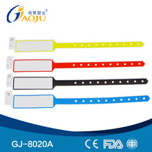 Wholesale Professional Plastic Material Adult Size Customized color and Logo China wristband