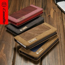 Caseme Luxury Leather Wallet Case For Iphone SE, Book Style jean Case For iPhone 5s, For iPhone5s cover