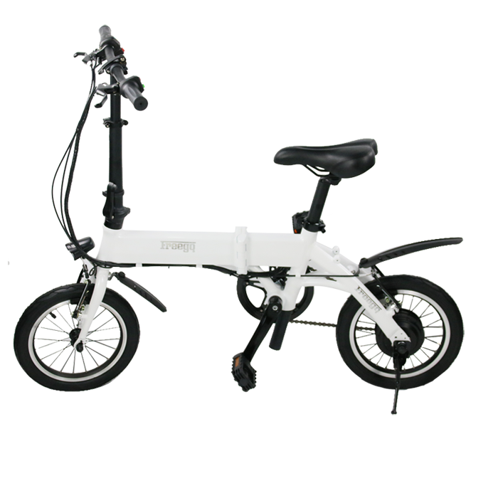 mini electric scooter bike with pedal backrest gofuture EM-14