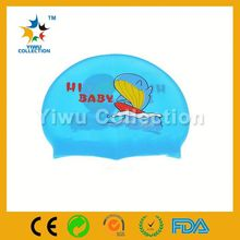 bright nylon fabric,child funny swim cap,swim hats for women