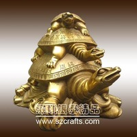 Tortoise Sculpture Bronze Animal Turtle Statues