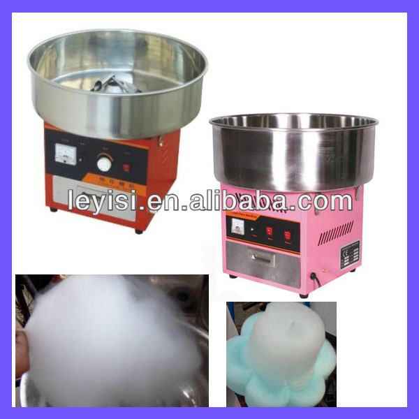 High efficiency electric cotton candy maker machine
