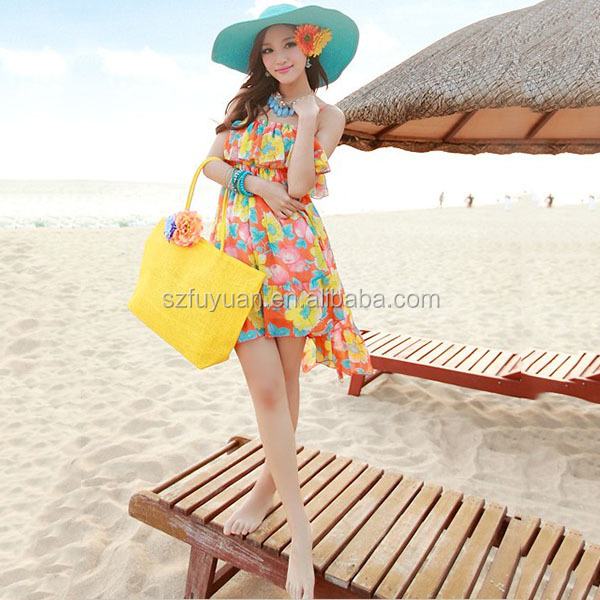 wholesale cheap price beach straw bag,paper straw bag