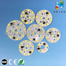 Driverless 5630 7 W 56mm AC LED Module 220V Integrated 94v0 pcb board