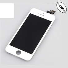 HUYSHE original for iphone 5 lcd touch screen protector with digitizer replacement for iphone 5 lcd assembly
