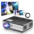 Factory directly sale newest wired screen projector video game proyector with USB HDMI VGA Port