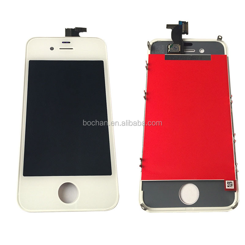cell phone accessories for apple iphone 4 replica lcd assembly, mobile phone lcd screen for iphone 4 lcd digitizer