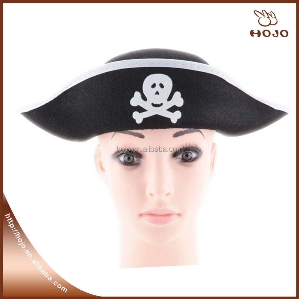 Pirate costume hat halloween toy