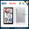 Hot selling MTK8312 7 inch built-in 3g android tablet gps fm radio