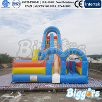 Giant Inflatable Bouncer Inflatable Dry Slide For Kids And Adults