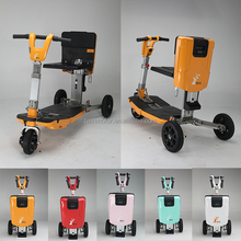 wholesale adult 3 wheel folding electric mobility scooter three wheel scooter