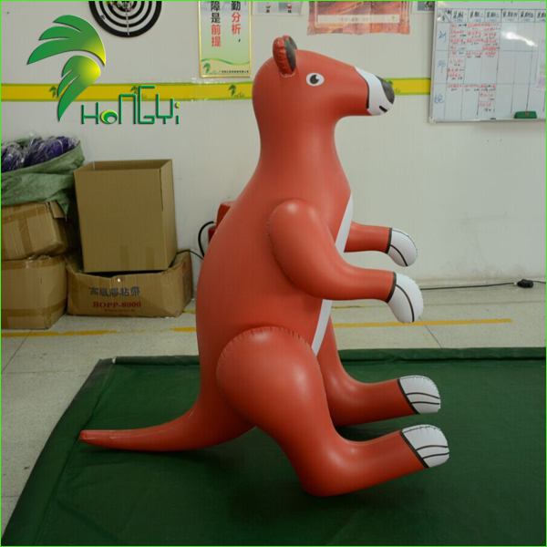 Custom Air Animal Cartoon Models / Inflatable Cartoon Character Toys / Inflatable Kangaroo