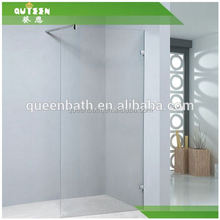 China factory JR1131 tempered glass shower bathtub screen,telescopic shower enclosure
