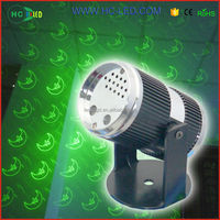 logo projector with night club decor show equipment laser light