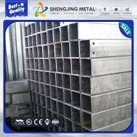 Manufacturer supply square galvanized steel pipe for greenhouse
