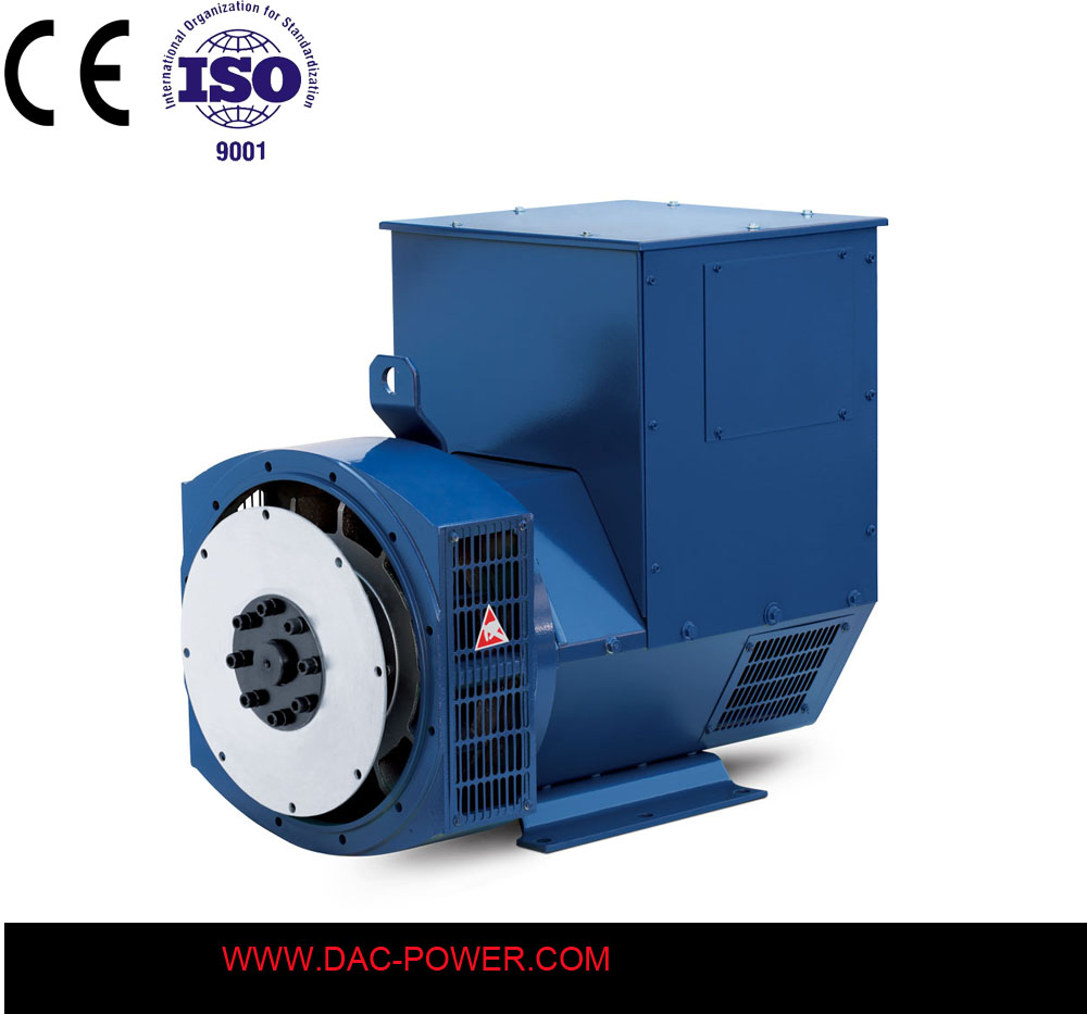 Weichai engine spare parts 50kw brushless alternator with india price