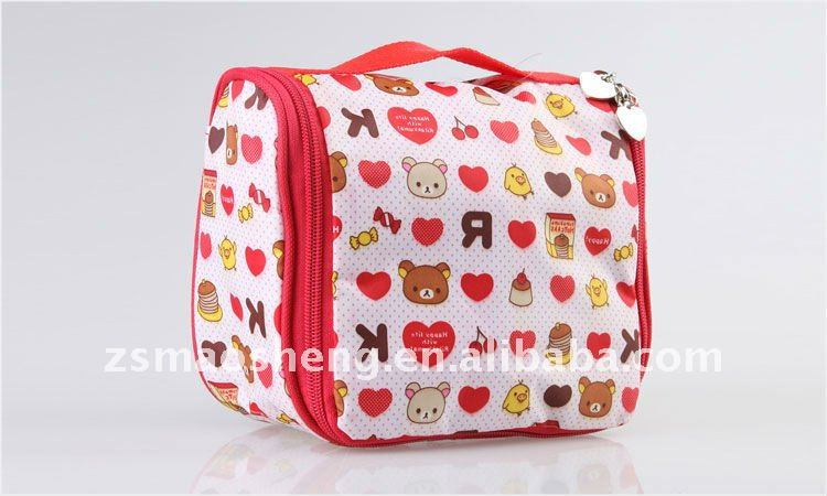 Cute Nylon cosmetic case