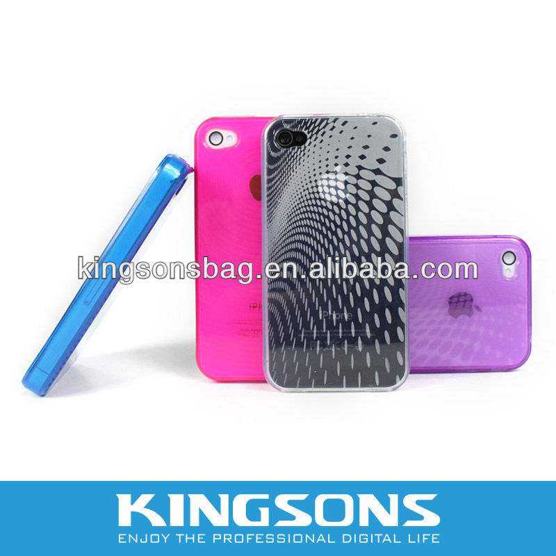 Colorful Protective case Cover for Iphone4 KS6169V