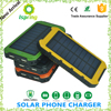 High Capacity Solar Power Bank Charger For Laptop 12000mah