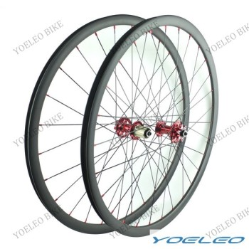 2016 Yoeleo mtb tubeless clincher carbon 29 with 25mm depth novatec hubs D711SB/D712SB-AA,carbon wheels 29*