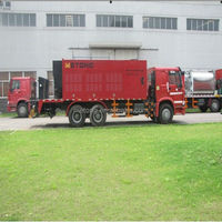 Metong slurry seal truck/surfacing machine/Micro-surfacing paver truck