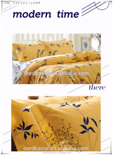 4 PCS/Set 2015 New Bedding Set Printing Bed Sheet/Duvet Cover/Pillowcase