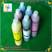 Alibaba China gold supplier outdoor used Eco Solvent Ink for ads For Hp 790 791