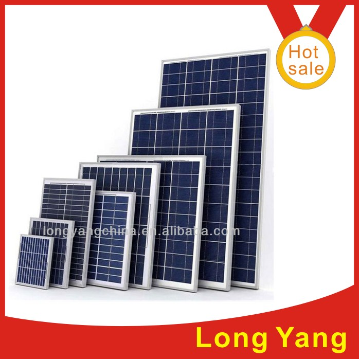5W 10W 25W 100W 120W 150W 180W 200W 240W 250W 280W 300W poly solar panel with long life