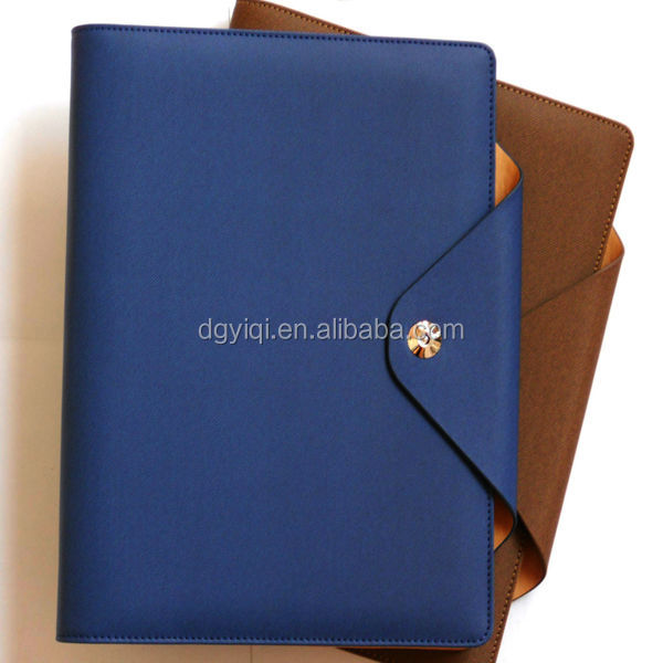 LN424 personalized leather notebook cover