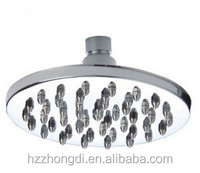 "plastic abs 8"" chrom rainfall shower head"