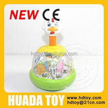 happy jumping chick baby toy