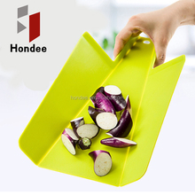 Food Grade Lowest Price Colorful Chopping Board Plastic Cutting Board Folding Cutting Board