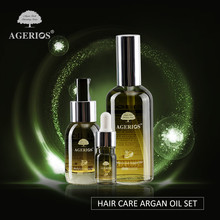 Hair treatment products Vitamin Moroccan argan oil for salon family use