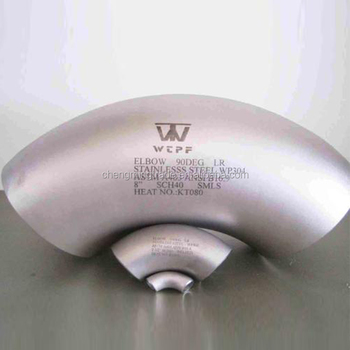 ASTM A234 WPB Butt Welding elbow ,90 D L.R