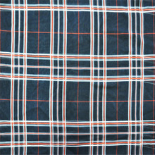 China suppliers fancy plaid chiffon printed fabric for ladies dress stock lot