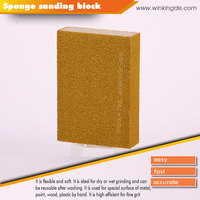 PEGATEC abrasive sanding sponge block for tile seam