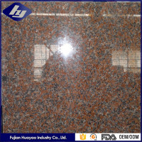 Chinese Cheap maple red Granite Price,white granite