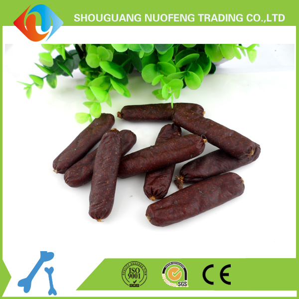 dried beef sausage pet snacks