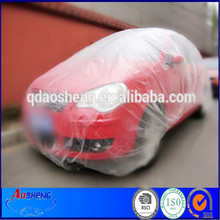 PE clear soft hardness car body protection surface cover