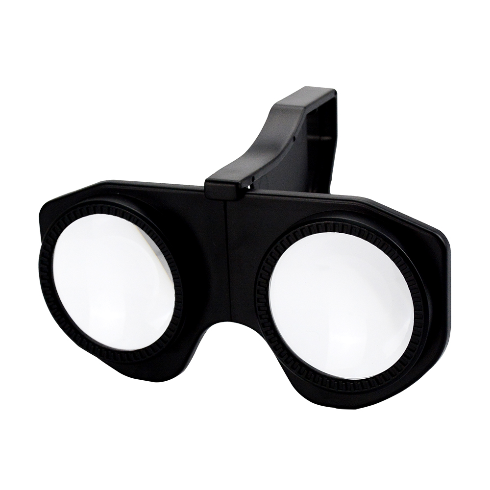 Mini Plastic Foldable 3D Vr Glasses for 3.5-6.0 Inches Mobile Phone