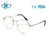 Ladies metal optical eye glasses eyewear frames 2017