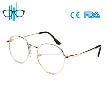 Ladies metal optical eye glasses eyewear frames 2017