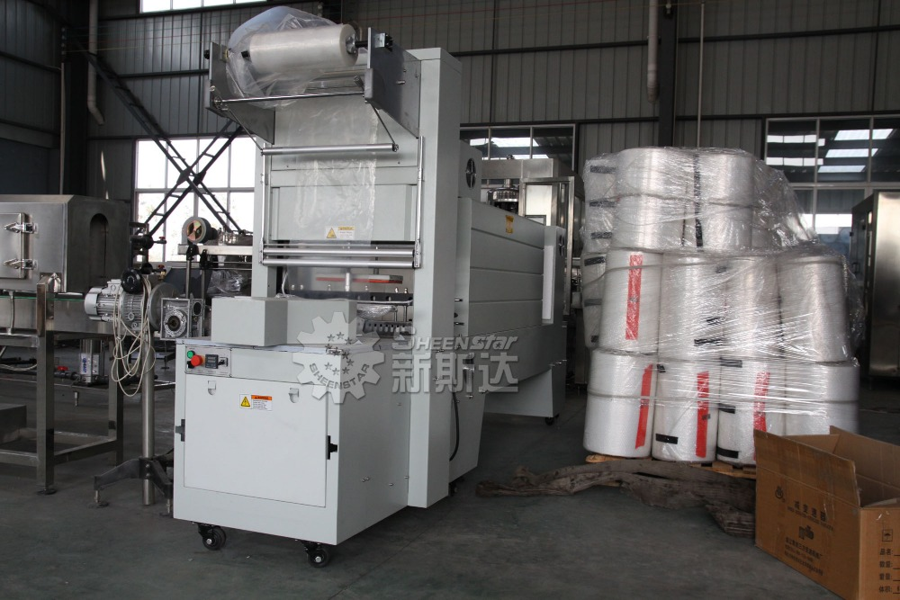 High Cost Performance Plastic Film Group Packing Machine / Shrink Wrapper