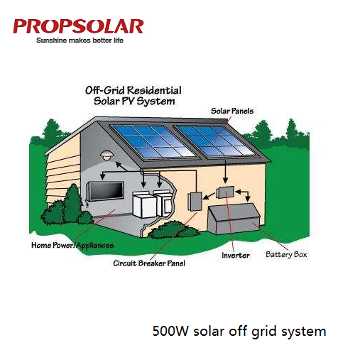 500W off grid <strong>solar</strong> power system with best price