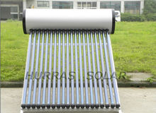 150 Liters Compact Pressurized Solar Water Heater, Heat Pipe Vacuum Tube Solar Thermal System