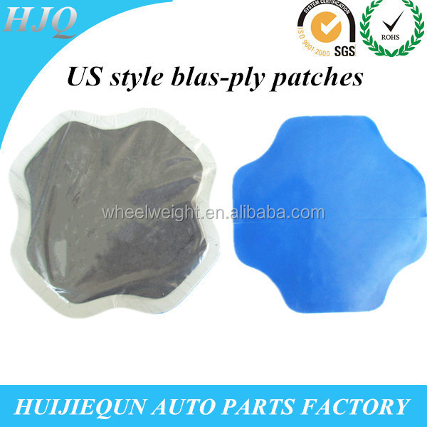 US style tire repair cold patch