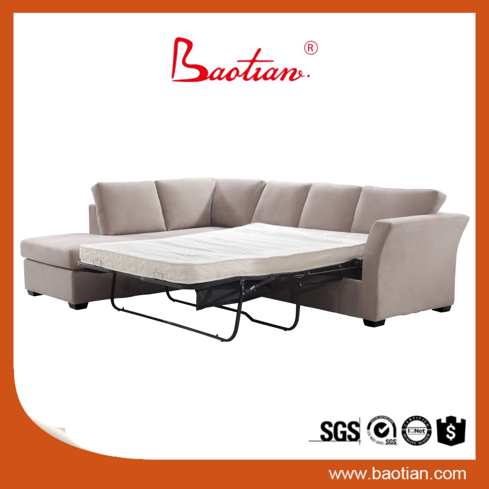 Microfibre fabric metal frame sofa bed wooden sofa cum bed designs and prices